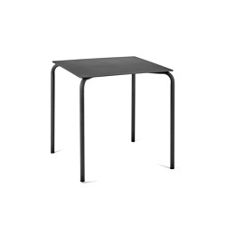 August Tish Alu Schwarz | Dining tables | Serax