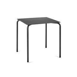 August Dining Table Alu Black | Dining tables | Serax