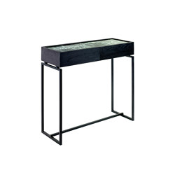 Dialect Drawerconsole Verde Green Green | Console tables | Serax