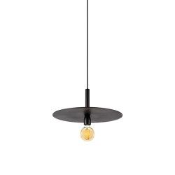 Essentials Hanging Lamp Black   Suspended lights   Serax
