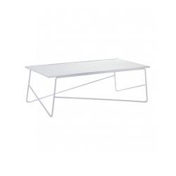 Fish & Fish Side Tisch Alu Large Weiss | Couchtische | Serax