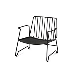 Fish & Fish Lounge Armchair Steel | Armchairs | Serax