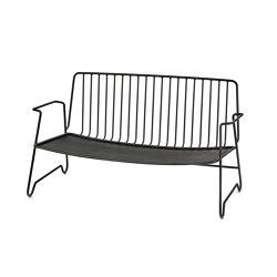 Fish & Fish Lounge Sofa Acier Noir | Canapés | Serax
