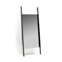 Interior Design by Bea Mombaers Mirror 2 Schwarz | Spiegel | Serax