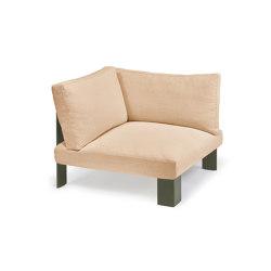 Interior Design by Bea Mombaers Bench Corner Seat Apricot | Elementi sedute componibili | Serax
