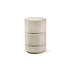 Pawn Round Concrete Stool Marie | Side tables | Serax