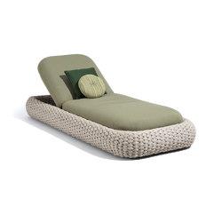 Kobo lounger | Sonnenliegen / Liegestühle | Manutti