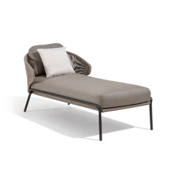 Radius Chaise longue | Lettini / Lounger | Manutti