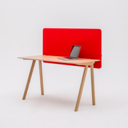 Duo | Sound absorbing table systems | MuteDesign®