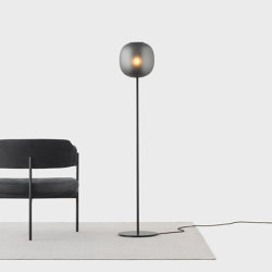 Bloom Floor Light - Black | Free-standing lights | Resident