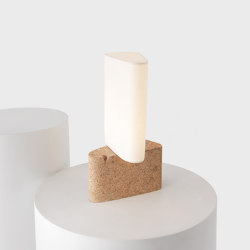 Fulcrum Table Light - Cork & Paper | Table lights | Resident