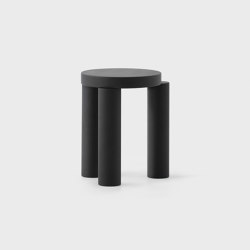 Offset Stool - Black | Stools | Resident