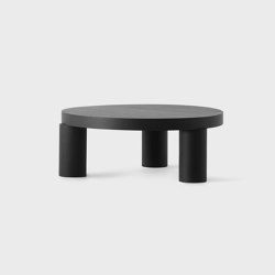 Offset Coffee Table - Black | Coffee tables | Resident