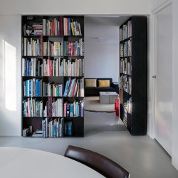System 3 | Pivoting Bookshelf Doors | Hinges | FritsJurgens