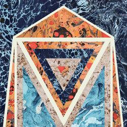 Araldica | Blasone Blu | Ceramic panels | FLORIM