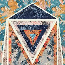 Araldica | Blasone Azzurro | Panneaux céramique | FLORIM