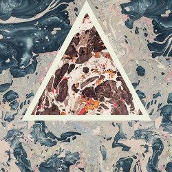 Araldica | Triangoli Grigio | Ceramic panels | FLORIM