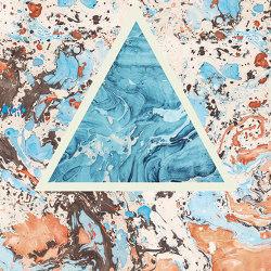 Araldica | Triangoli Corallo | Ceramic panels | FLORIM