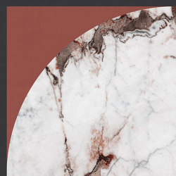 Policroma | Arco Breccia-Mattone | Ceramic panels | FLORIM