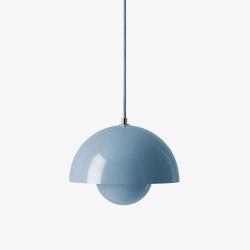 Flowerpot VP1 Light Blue | Suspended lights | &TRADITION