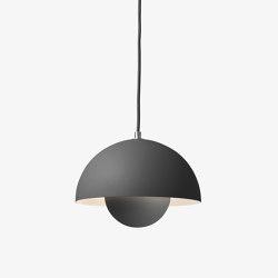 FlowerPot Pendant VP1 matt dark grey   Suspended lights   &TRADITION