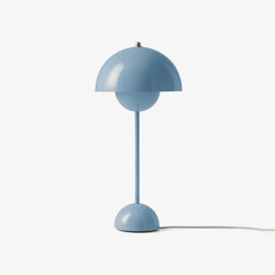 FlowerPot Table VP3 light blue | Tischleuchten | &TRADITION
