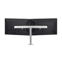 Modular | Dual Display Crossbar on 400mm Post AWMS-R40 | Accessoires de table | Atdec
