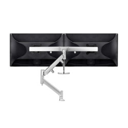 Modular | Dual Display Single Dynamic Arm Desk Mount AWMS-RHXB | Accessoires de table | Atdec