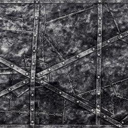Rootz Silver Black | Composite panels | Artstone
