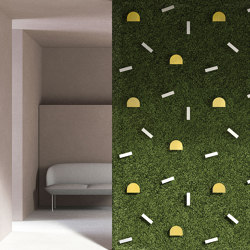 Twinkles Green Wall | Privacy screen | Greenmood