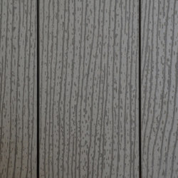 Ecolegno decking - colour dark grey - finish wood grain | Wood flooring | Saimex