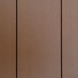 Ecolegno decking - colour champagne -  finish smooth brushed   Wood flooring   Saimex