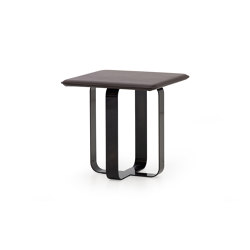 V211 | Occasional Table in Cuoio leather | Mesas auxiliares | Aston Martin Interiors