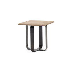 V211 | Occasional Table in Nabuck leather | Mesas auxiliares | Aston Martin Interiors
