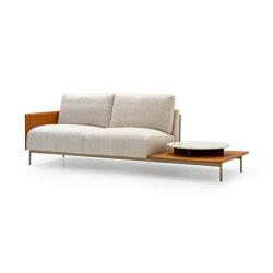 V215 | Sofa with tray | Divani | Aston Martin Interiors