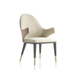 Diva C/b Chair | Sillas | Capital