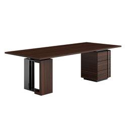 Tycoon L Writing Desk | Bureaux | Capital