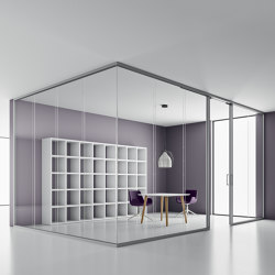 DV603-DOUBLE-GLASS | Wall partition systems | DVO