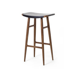 Freja Bar Stool SH750 Leather Seat | Taburetes de bar | Stellar Works