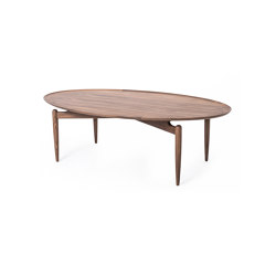 Slow Oval Coffee Table | Tables basses | Stellar Works