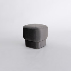 Capper Low Stool | Pouf | Phase Design