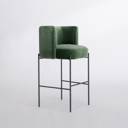 Capper Side Chair - Metal Base | Barhocker | Phase Design