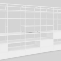 Centered anchor | Shelving | Artis Space Systems GmbH