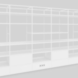 Electric Socket | Shelving | Artis Space Systems GmbH