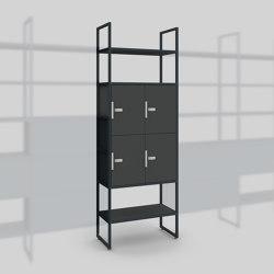 Module B – Locker system 400 | Estantería | Artis Space Systems GmbH