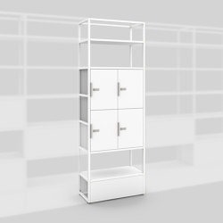 Module B – Locker system 400 | Shelving | Artis Space Systems GmbH