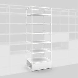 Modul A – Offenes Regal 650 | Shelving | Artis Space Systems GmbH