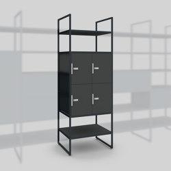 Module B – Locker system 650 | Estantería | Artis Space Systems GmbH