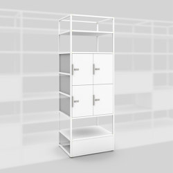 Module B – Locker system 650 | Shelving | Artis Space Systems GmbH