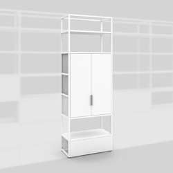 Module C – Small filing cabinet 400 | Cabinets | Artis Space Systems GmbH